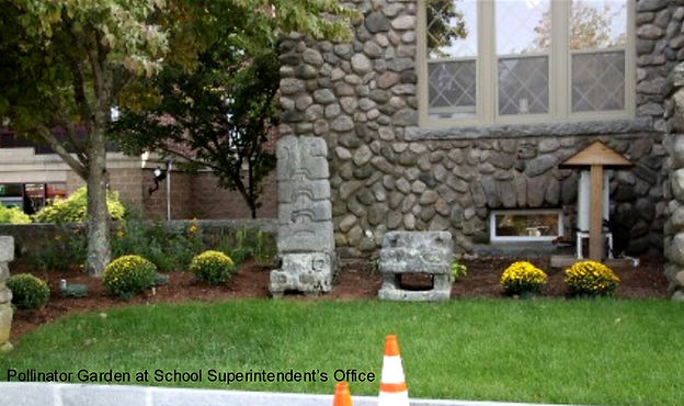 Pollinator Garden at Superintendent's Of