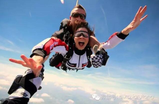 高空跳伞【极限运动】