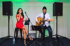 Corporate function for the Wrigleys Conference.  Sydney acoustic duo.