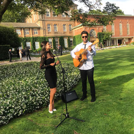 Wedding ceremony & canape's at Sydney Church of England grammar School.  Sydney acoustic duo.