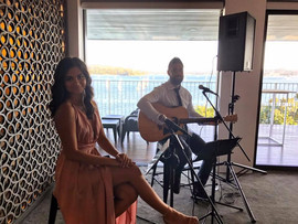 Private event at Sergeants Mess, Mossman.  Sydney acoustic duo.