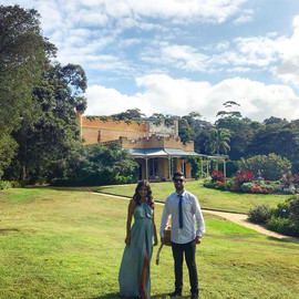 Wedding ceremony at Vaucluse house historic site and Watsons Bay Boutique hotel.  Sydney acoustic duo.
