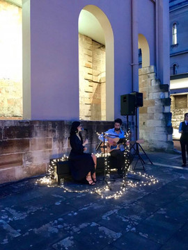 Corporate event for BDO Australia at The Mint, Sydney.  Sydney acoustic duo.