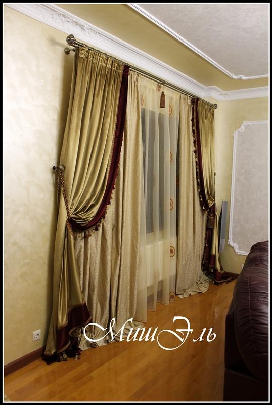 Мишэль_шторы в гостиную №1а