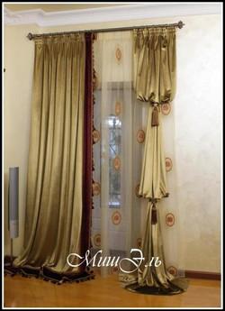 Мишэль_шторы в гостиную №1