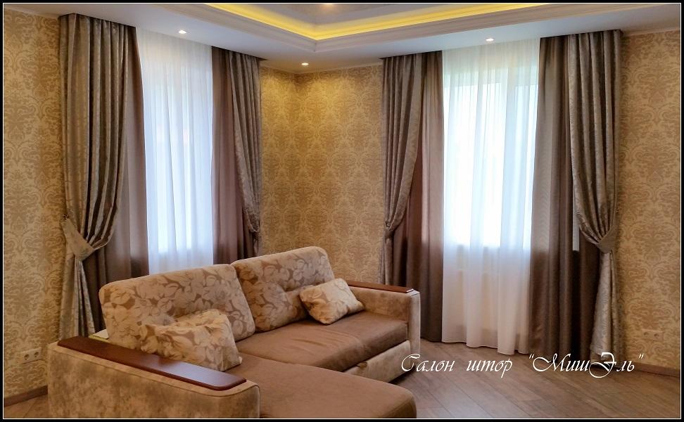 Мишэль_шторы в гостиную№11