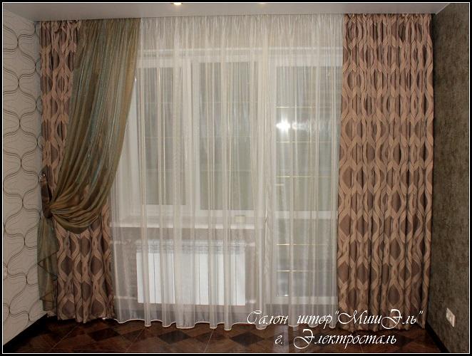 Мишэль_шторы в гостиную №8