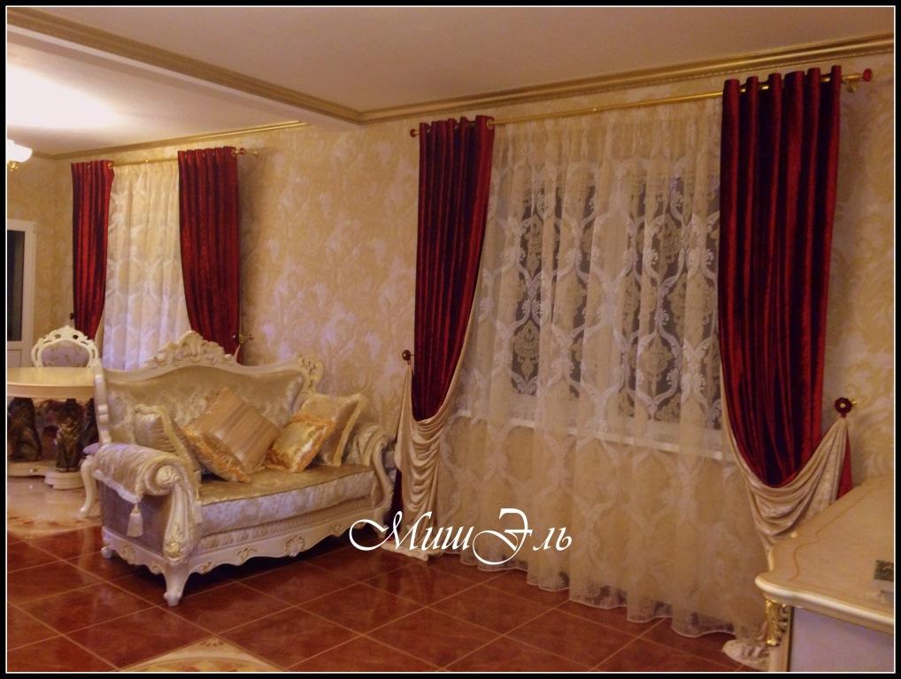 Мишэль_шторы в гостиную №2а