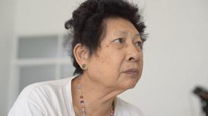 anxiety of an elderly widow