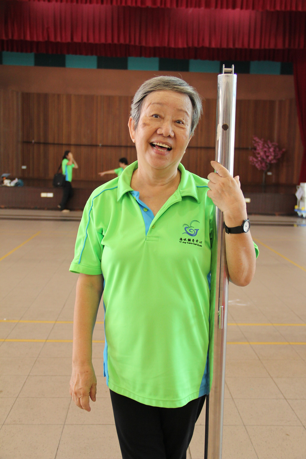 Chiew Sim, 65 years old