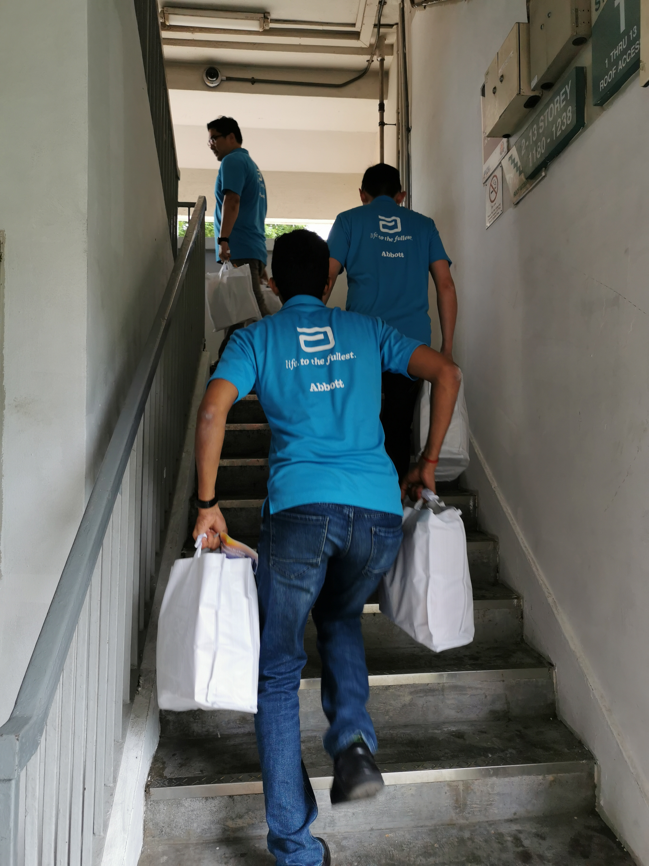 Abbott goodie bags