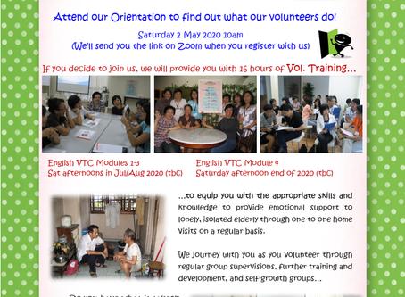 Volunteer as para-counsellors