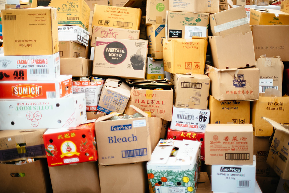 Piles of boxes (Photo by chuttersnap on Unsplash)