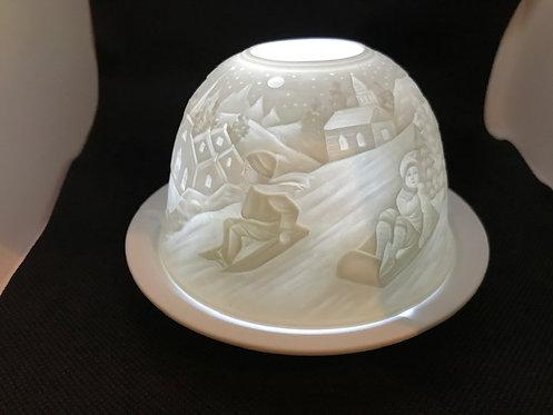 Tea Light Dome - Sleigh Ride