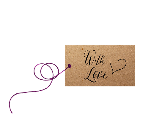 With Love - label