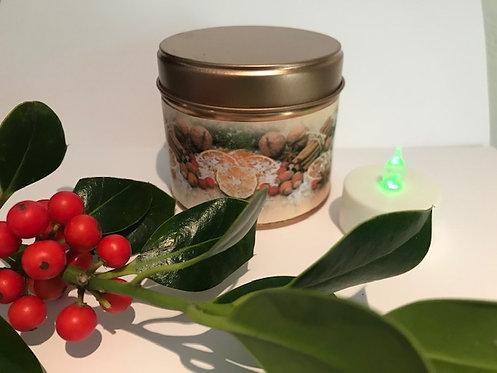Christmas Spice Candle - Colour label