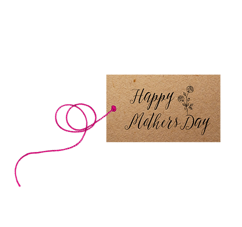 Happy Mothers Day - label