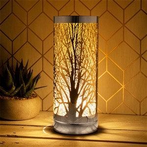 Silver & Amber Aroma Lamp