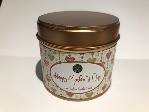 Mother's Day Hearts Label