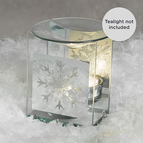 Wax Melt Burner - Snowflake