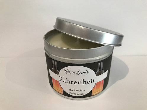 Fahrenheit Aftershave Candle
