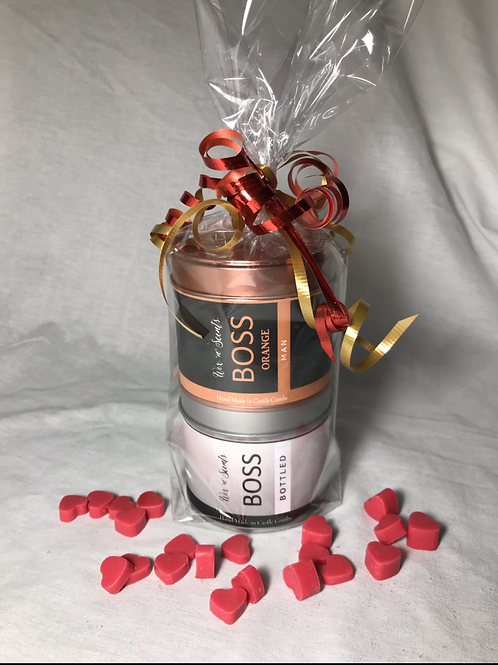 Boss Candle Gift Set