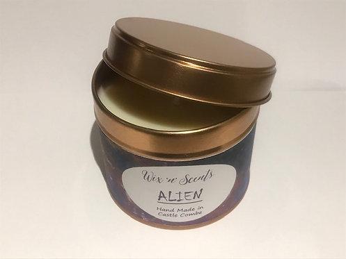 Alien Perfume Candle