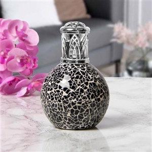 Fragrance Lamp - Black Mosaic
