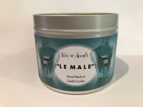 Le Male Aftershave Candle