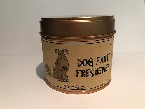 Dog Fart Freshener Candle