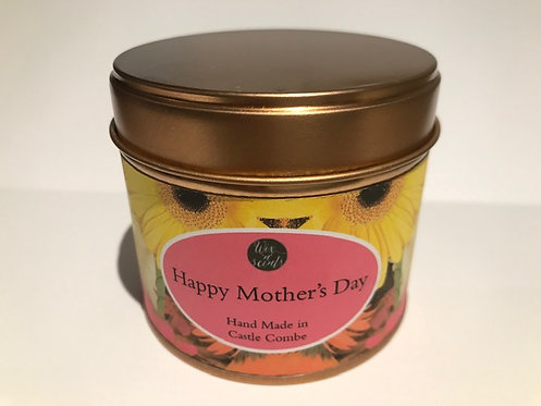 Mothers Day Candle - Flowers