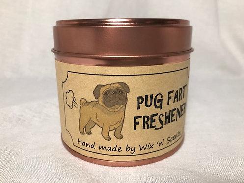Pug Fart Freshener Candle