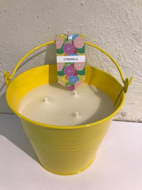 Citronella - yellow bucket