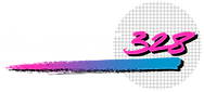 flight328 swatchgrid edited logo band chicago synth duo synthwave artist josh freddy austin deadman sphere gradient retro style humble brothers aviation engine original explosion of sound