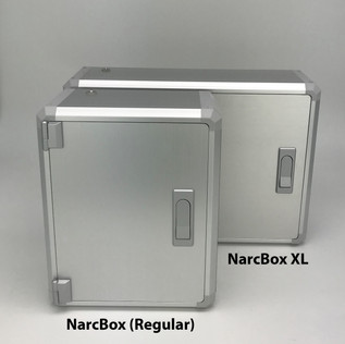 NarcBox standard and NarcBox XL comparison