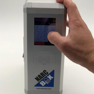 NarcBox touch-sensitive screen