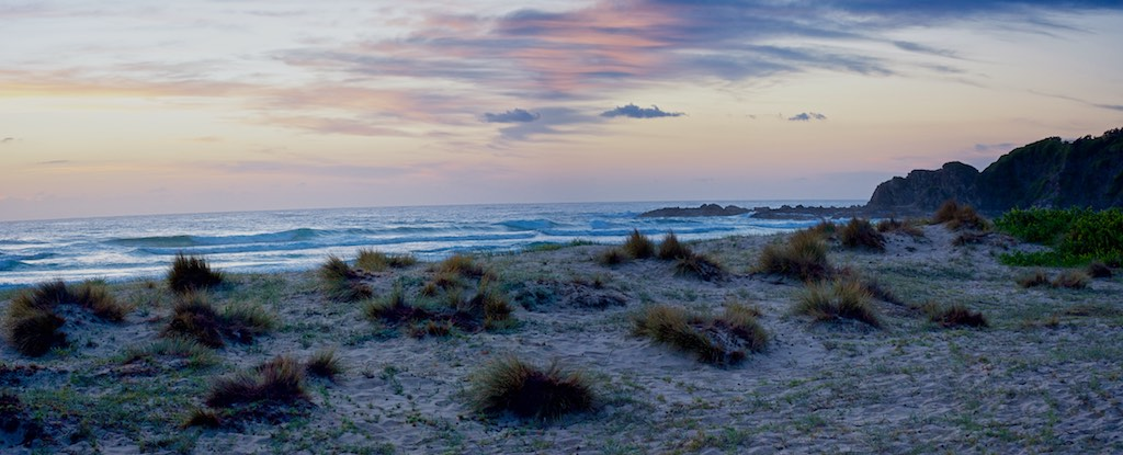 Sunrise Over Blackies Beach