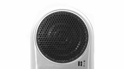 Dual speaker system and microphone