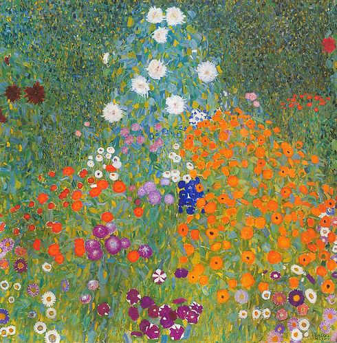 Gemälde von Gustav Klimt Bauerngarten