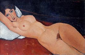 Malerei von Amedeo Modigliani, Staatsgalerie Stuttgart