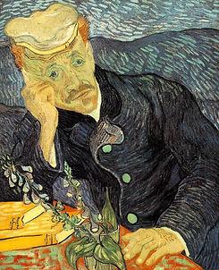 Gemälde von Vicent van Gogh, Dr. Gachet