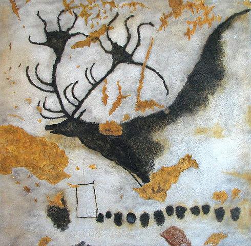 Höhle von Lascaux, Bild eines Hirsches