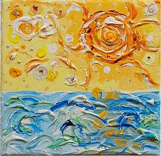 Sonne über dem Meer, ein Bild aus Serie
