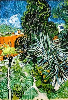 Gemälde von Vincent van Gogh, Natur in Südfrankreich