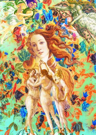 Primavera, digitales Gemälde