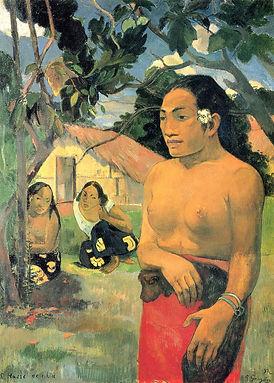 Malerei von Gauguin, Staatsgalerie Stuttgart