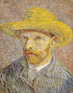 Bild von Vincent van Gogh, selbst gemalt