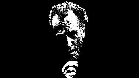 Charles Bukowski, Amerikanischer Autor, Zeichnung