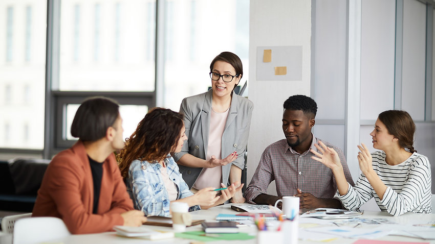 HR upskilling talents to manage skills gap in the organisation in times of disruption.