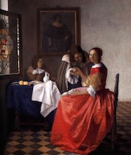 Vermeer art history lesson plan